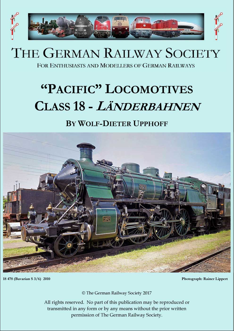 Cover image: Pacific locomotives class 18 – Länderbahnen