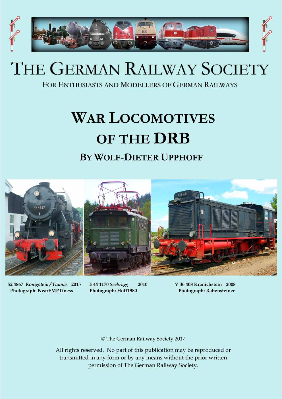 Cover image: War locomotives of the DRB